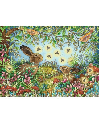 Puzzle Ravensburger - Magic Forest, 1.000 piese (15172)