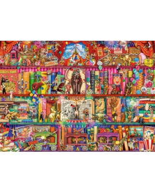 Puzzle Ravensburger - The Greatest Show on Earth, 1.000 piese (15254)