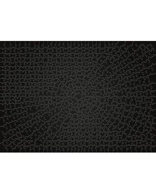 Puzzle Ravensburger - Krypt Black, 736 piese dificile (15260)