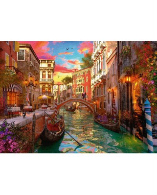 Puzzle Ravensburger - Romance in Venice, 1000 piese (15262)