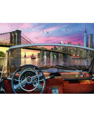Puzzle Ravensburger - Bridge in Brooklyn, 1.000 piese (15267)