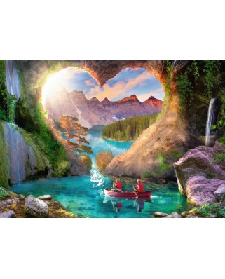 Puzzle Ravensburger - The Cave of Love, 1.000 piese (15272)