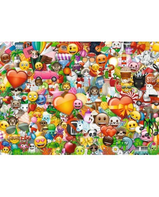 Puzzle Ravensburger - Emoji II, 1.000 piese (15984)