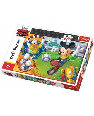 Puzzle Trefl - Mickey Mouse, 100 piese (16353)
