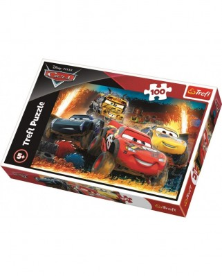 Puzzle Trefl - Cars 3, 100 piese (16358)