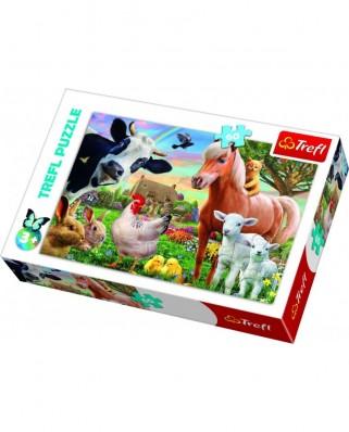 Puzzle Trefl - A Cheerful Farm, 60 piese (17320)
