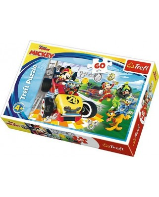 Puzzle Trefl - Disney Mickey and the Roadster Racers, 60 piese (17322)