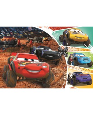 Puzzle Trefl - Cars 3, 60 piese (17327)