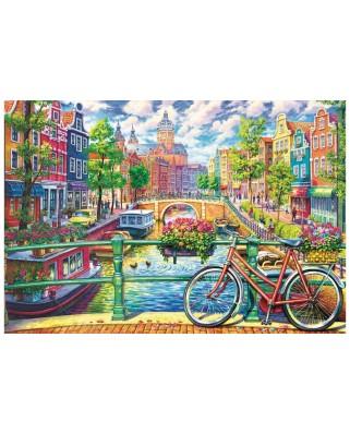 Puzzle Trefl - Amsterdam, 1500 piese (26149)