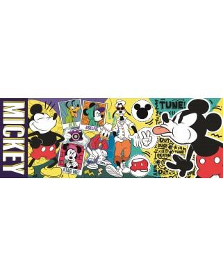Puzzle panoramic Trefl - Mickey, 500 piese (29511)