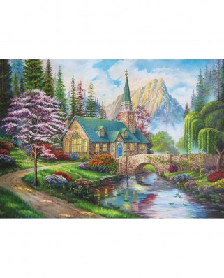 Puzzle Trefl - Woodland Seclusion, 500 piese (37327)