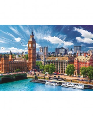 Puzzle Trefl - Sunny Day in London, 500 piese (37329)