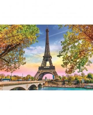 Puzzle Trefl - Romantic Paris, 500 piese (37330)