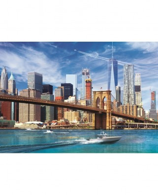 Puzzle Trefl - View of New York, 500 piese (37331)