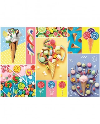 Puzzle Trefl - Favorite Sweets, 500 piese (37335)