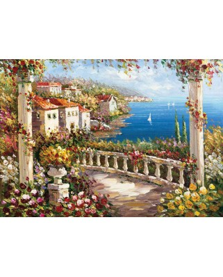 Puzzle KS Games - A Paradise On Earth, 1.000 piese (KS-Games-11343)