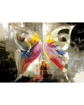 Puzzle KS Games - Ali Eminoglu: Butterfly Effect, 1.000 piese (KS-Games-11257)