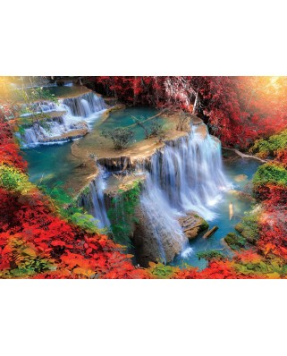 Puzzle KS Games - Autumn Waterfall, 1.000 piese (KS-Games-11466)