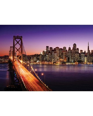 Puzzle KS Games - Brigitte Peyton: San Francisco Bridge at Sunset, 500 piese (KS-Games-11376)