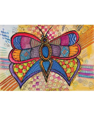 Puzzle KS Games - Butterfly, 1.000 piese (KS-Games-11484)
