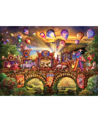 Puzzle KS Games - Ciro Marchetti: Carnival Parade, 2.000 piese (KS-Games-11477)