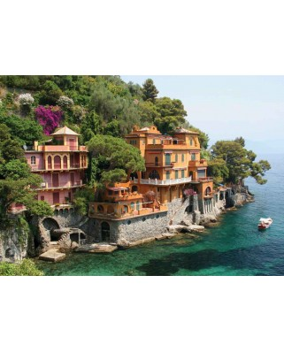 Puzzle KS Games - Coast Villas, 500 piese (KS-Games-11231)
