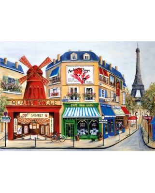 Puzzle KS Games - David Fairchild: Moulin Rouge, 2.000 piese (KS-Games-11511)