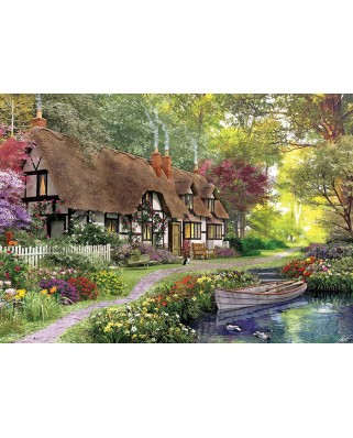 Puzzle KS Games - Dominic Davison: Cottage, 1.000 piese (KS-Games-11354)
