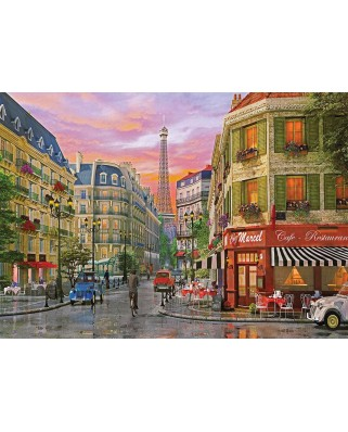 Puzzle KS Games - Dominic Davison: Rue de Paris, 1.000 piese (KS-Games-11357)