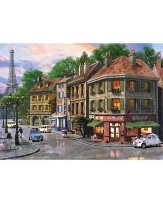 Puzzle KS Games - Dominic Davison: Rue de Paris, 2.000 piese (KS-Games-11307)