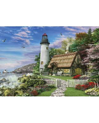Puzzle KS Games - Dominic Davison: The Old Country House By The Sea, 1.000 piese (KS-Games-11291)