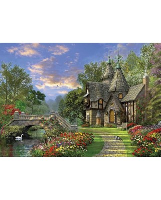 Puzzle KS Games - Dominic Davison: The Old Country House On The Shore, 1.000 piese (KS-Games-11355)