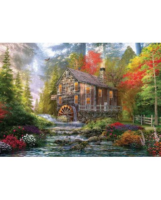 Puzzle KS Games - Dominic Davison: The Old Wooden Mill, 1.000 piese (KS-Games-11356)
