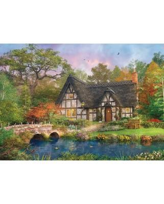 Puzzle KS Games - Dominic Davison: The Stoney Bridge Cottage, 2.000 piese (KS-Games-11479)