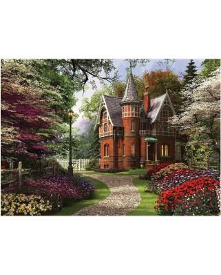 Puzzle KS Games - Dominic Davison: Victorian Cottage in Bloom, 2.000 piese (KS-Games-11294)