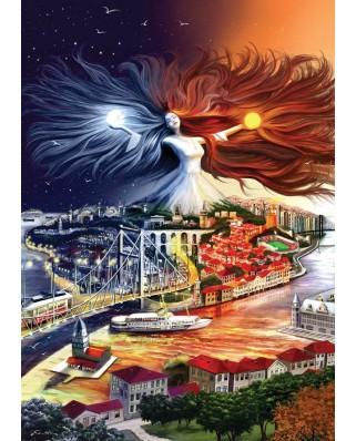 Puzzle KS Games - Istanbul, Turkey, 2.000 piese (KS-Games-11271)