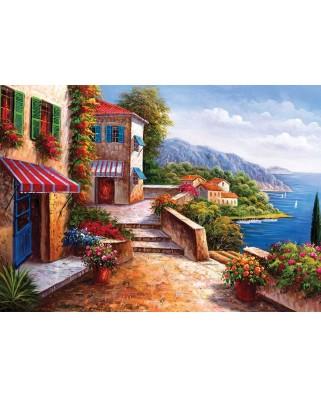 Puzzle KS Games - Italy, Amalfi Coast, 1.000 piese (KS-Games-11335)
