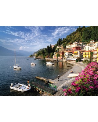 Puzzle KS Games - Italy, Como Lake, 500 piese (KS-Games-11303)