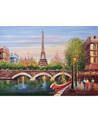 Puzzle KS Games - Jin Park: Paris, 500 piese (KS-Games-11378)
