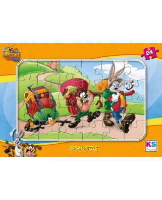 Puzzle KS Games - Looney Tunes, 24 piese (KS-Games-LT704)