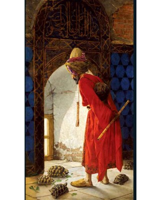 Puzzle KS Games - Osman Hamdi Bey: The Turtle Trainer, 1.000 piese (KS-Games-11087)