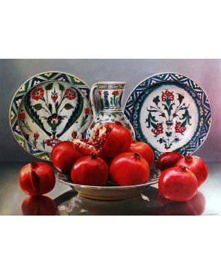 Puzzle KS Games - Porcelain and Pomegranates, 1.000 piese (KS-Games-11382)