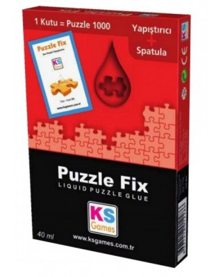 Lipici pentru puzzle KS Games, 1000 Pieces, 40 ml (KS-Games-T228)