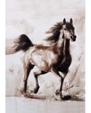 Puzzle KS Games - Robert Bonomo: The Horse, 1.000 piese (KS-Games-11342)