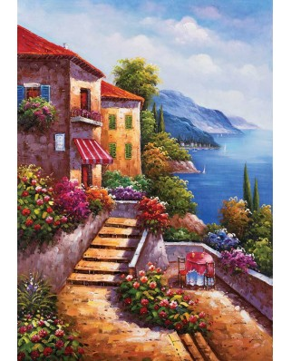 Puzzle KS Games - Stairs To The Villa, 1.000 piese (KS-Games-11345)