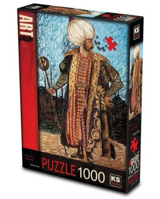 Puzzle KS Games - Suleyman the Magnificent, 1.000 piese (KS-Games-11384)