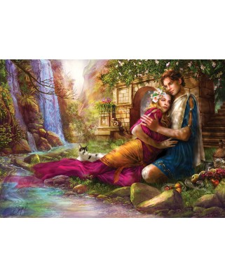 Puzzle KS Games - The Secret Garden, 2.000 piese (KS-Games-11361)