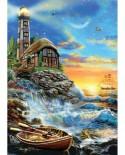 Puzzle KS Games - Twilight Lighthouse, 500 piese (KS-Games-11368)