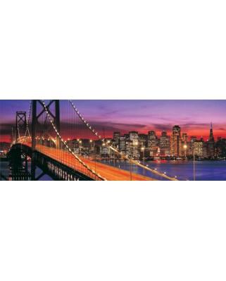 Puzzle panoramic KS Games - Golden Gate Bridge, San Francisco, 1.000 piese (KS-Games-11222)
