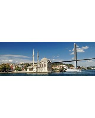 Puzzle panoramic KS Games - Ortakoy Mosque, 1.000 piese (KS-Games-11139)